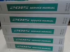 2015 GM Chevy Camaro Workshop Service Shop Repair Manual SET NEW 2015 OEM
