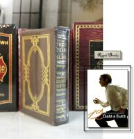TWELVE YEARS A SLAVE - Easton Press - NORTHUP - DELUXE LTD ED - SEALED w/BOX