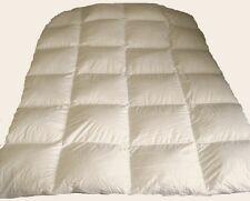 Clima Balance Daunendecke Comfort 155x200 cm. Mit innen/Außensteg und Stickerei