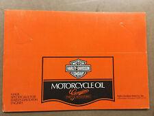 HARLEY DAVIDSON(1 NOS MOTORCYCLE 4 PACK BOX ONLY-VINTAGE,SHOVELHEAD,PANHEAD