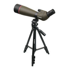 "Svbony 80mm Spotting Scope Multi-Coated Optics 20-60x Zoom Refractor+ 54"" Tripod"