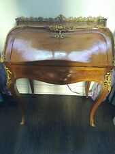 Antique French Louis Secretary Desk Vanity Table P/U Only In Md