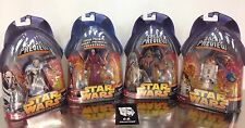 Star Wars Revenge Of The Sith Sneak Preview Lot Of 4 New Sealed