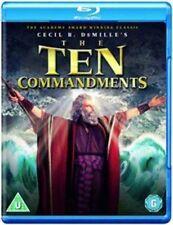 The Ten Commandments Blu-ray 1956 Region DVD
