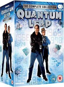 QUANTUM LEAP COMPLETE SERIES SEASONS 1,2,3,4,5 DVD 27 DISC BOXSET NEW/SEALED 1-5