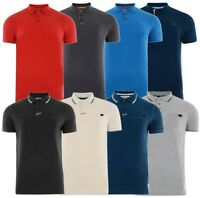 CROSSHATCH PIQUE POLO SHIRTS NEW MENS POLO COTTON JERSEY TOP T-SHIRT SHIRTS