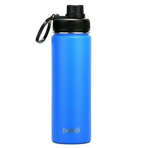 Stainless Steel Water Bottle Vacuum Insulated Sport Lid Flask Metal Hydro 22 oz