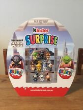 Star Wars Kinder Surprise Diorama Toys Ltd Edition AUSTRALIA Rare Only 200 Made