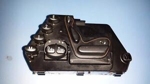 2000-2006 MERCEDES-BENZ W220 S430 S500 LEFT FRONT SEAT CONTROL SWITCH