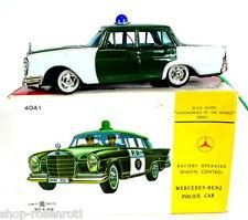 Bandai Polizeiauto - Mercedes Benz 230 S Heckflosse + Fernlenkung + OVP