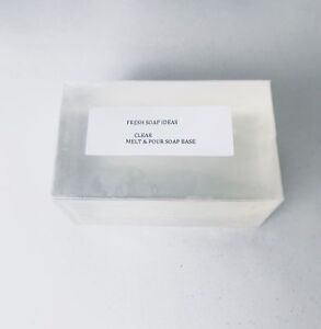 Clear Melt and Pour Soap Base Low Sweat + 30 recipes