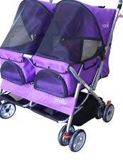 Yooki P-09Double Side Pet Stroller, Purple
