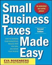 Small Business Taxes Made Easy-ExLibrary