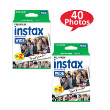 Fuji Wide Instant Color Film Instax for 200/210 Cameras - 2 Twin Packs - 40 Pack