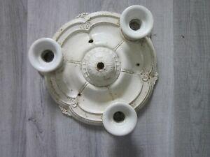 Vintage 3 Bulb Flush Mount Ceiling Light Fixture
