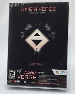 Axiom Verge: Multiverse Edition - Limited Run Games Wii U - BRAND NEW - SEALED