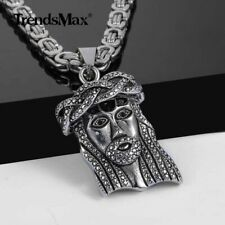 3bd2f7debe037 jesus piece pendant products for sale   eBay