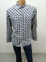 Camicia LEVIS Uomo taglia size XL shirt man chemise uomo maglia polo cotone 5616