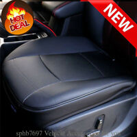 Front Seat Cover Deluxe PU full Surround Leather Car Breathable Chair Cushion