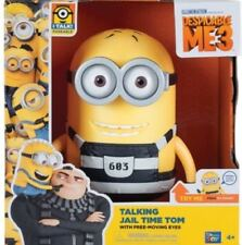 """TALKING JAIL TIME TOM MINION 7.25"""" ACTION FIGURE WITH 15 SOUNDS DESPICABLE ME 3"""