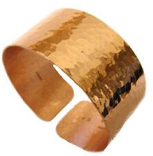"1"" Hammered design Copper cuff Bracelet hand made New by VartaniUSA"