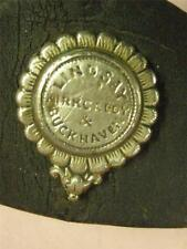 STUNING VICTORIAN WHITE METAL NOSE PEICE.poss colliery