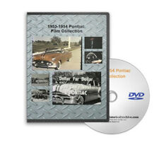 1953 & 1954 Pontiac Promotional & Sales Film Collection + Commercials - C111