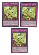 X3 YUGIOH BUJIN REGALIA - THE JEWEL LVAL-EN075 COMMON 1ST