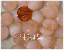 Pink Frosty Swirls * Glass Gems Mosaic Tile Tiles
