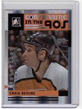 CRAIG BERUBE 11/12 ITG Broad Street Boys Base Card #56 Philadelphia Flyers SP