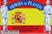 ARMIES IN PLASTIC SPANISH-AMERICAN WAR SPANISH ARMY 18 Toy Soldiers FREE SHIP