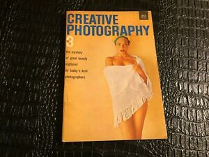1959 CREATIVE PHOTOGRAPHY #3 pinup photo type magazine (MISC5069)