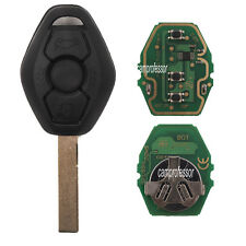 New EWS Remote Key Fob 433MHz ID44 Chip for BMW E81 E46 E39 E63 E38 E83 E53 E36
