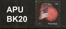 US 4855 Star-Spangled Banner forever single (from APU booklet of 20) MNH 2014