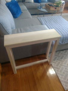 Slim End Table