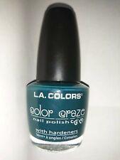 L.A Colors color craze summer beach green Nail polish Varnish. New. 15ml