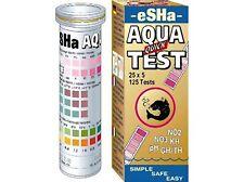 Kit de prueba rápida de ESHA AQUA Tiras PH KH NO2 NO3 GH pruebas de prueba de agua 50 X 6
