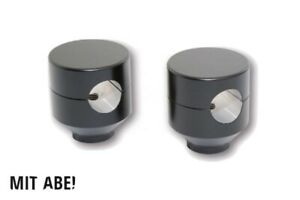 HIGHSIDER Riser Piston, schwarz, 42mm, 1 Zoll, Aluminium, schwarz
