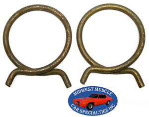 """Chrysler Jeep 2-1/8"""" Corbin Style Spring Wire Heater Radiator Hose Clamps 2pc TJ"""