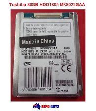 Toshiba 80GB HDD1805 MK8022GAA