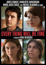 Every Thing Will Be Fine (DVD, 2016) FREE FIRST CLASS SHIPPING !!!!!
