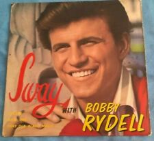 SWAY WITH BOBBY RYDELL, 1962 CAMEO PARKWAY EP, POP, VINYL EX, SLEEVE VG+