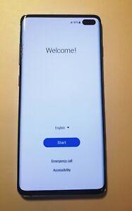 Samsung Galaxy S10+ SM-G975U - 128GB - Prism Blue Sprint/T-Mobile ***Plz Read***