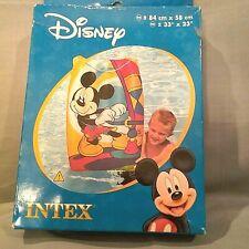 Disney Mickey & Friends Fun Float Intex 33X23 NEW in Box Inflatable Raft