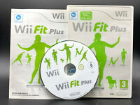 "NINTENDO WII SPIEL"" WII FIT PLUS "" OVP + Anleitung Software"