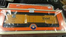 LIONEL 6-25934 AT&SF  WOOD SIDED REEFER  3 PACK   NIP NEW