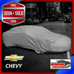 CHEVY [OUTDOOR] CAR COVER ✅ All Weatherproof ✅ 100% Full Warranty ✅ CUSTOM ✅ FIT