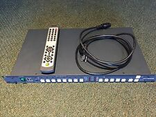 Kramer VP 724DS 8 Input Seamless Video Presentation Switcher, with Remote