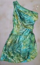 NWT Iridescent Contemporary gathered side style line Dance Costume small adult