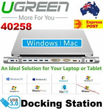 Ugreen 40258 Universal USB3.0 Docking Station for all Windows Mac Laptop Tablet
